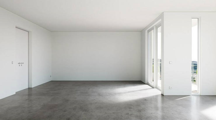 Modern White Moderne Wohnzimmer von makasa Modern