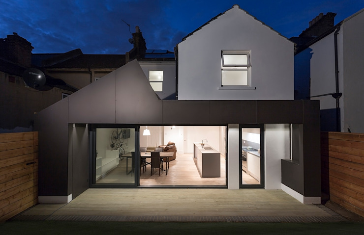 Harefield Road Moderne huizen van Gruff Modern