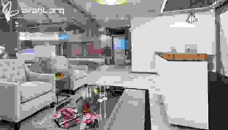 AVANT ARQ Salones modernos de AVANT ARQ Moderno