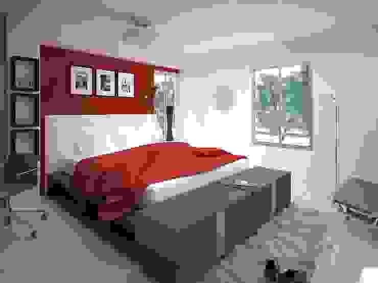 Habitaciones de estilo  por AVANT ARQ,