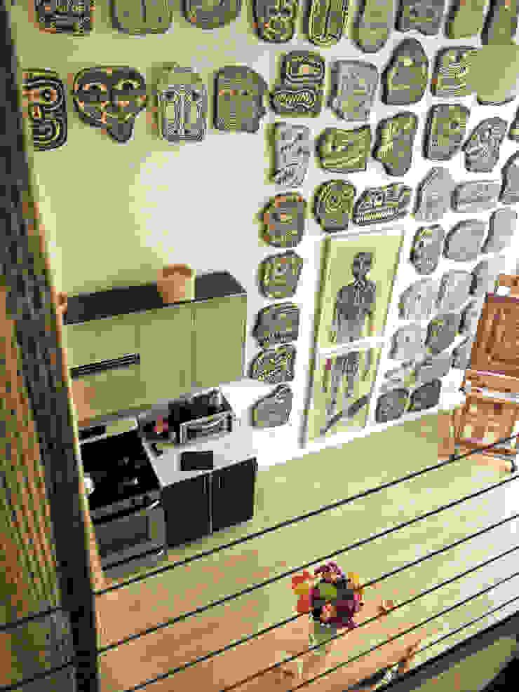Salon moderne par Juan Carlos Loyo Arquitectura Moderne