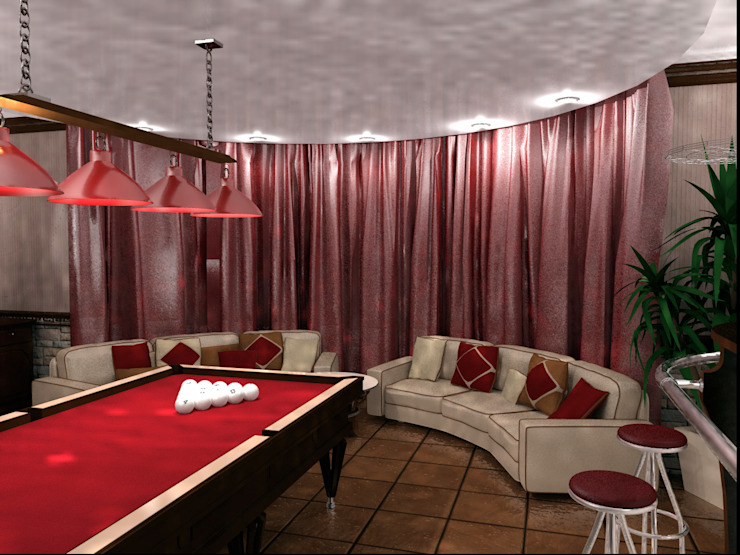 Classic style media rooms by ООО 'Бастет' Classic