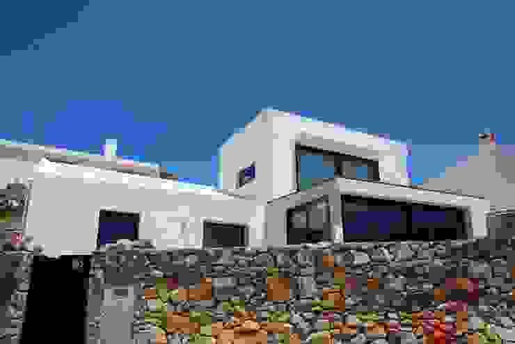 Casa Simas | fachada Casas minimalistas por Conceito Arquitetos Minimalista