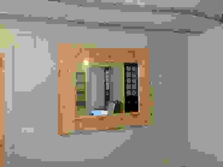 Espejo en tonos naturales de MUEBLES DE LA GRANJA Rústico Madera Acabado en madera