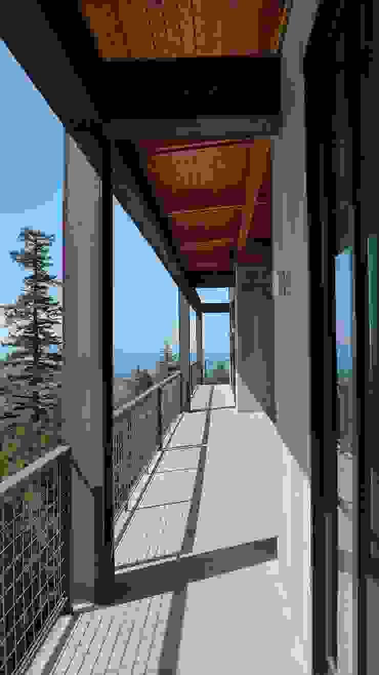 Casa Buck Mountain, Indigo, EUA | Viroc Paredes e pisos campestres por Viroc Campestre