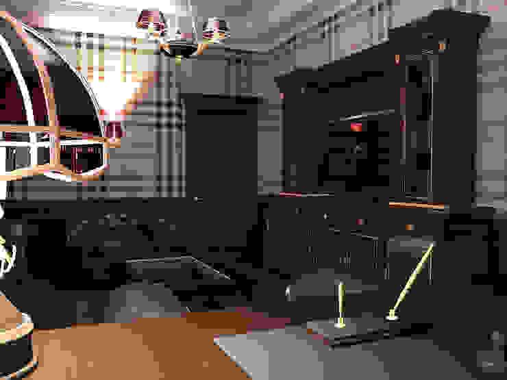 Кабинет в стиле классика Рабочий кабинет в классическом стиле от ООО 'Бастет' Классический