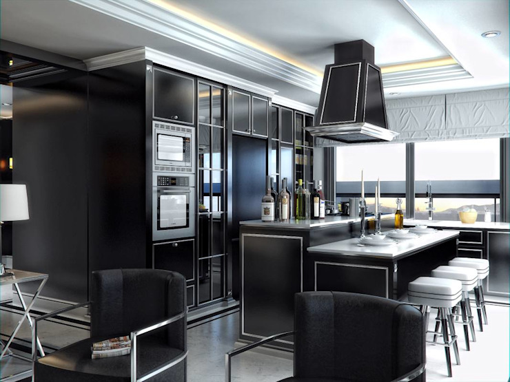 Zahide Yetiş Konut Modern Mutfak VERO CONCEPT MİMARLIK Modern