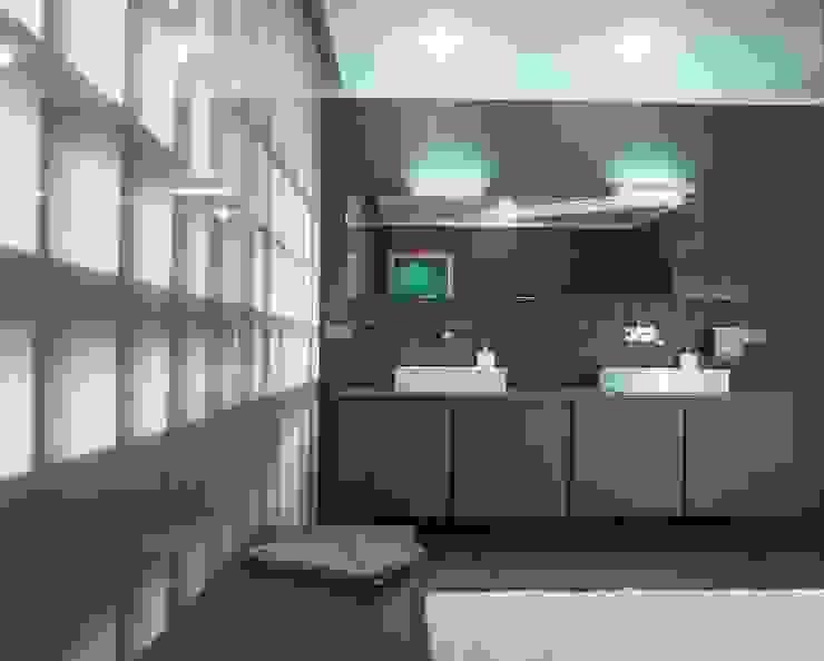 Квартира в ЖК Новая звезда Ванная комната в стиле минимализм от ASASH Минимализм