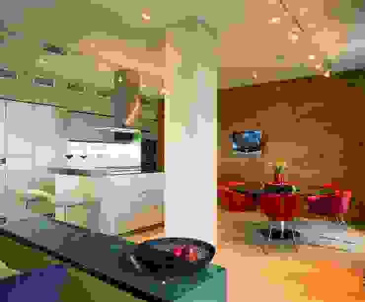 Квартира в ЖК Новая звезда Кухня в стиле минимализм от ASASH Минимализм