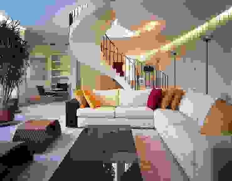 Квартира на Литейном Гостиная в стиле минимализм от ASASH Минимализм