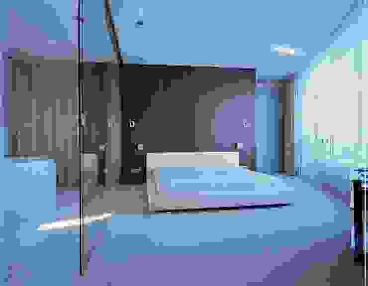 Квартира на Литейном Спальня в стиле минимализм от ASASH Минимализм