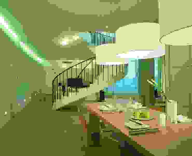 Квартира на Литейном Столовая комната в стиле минимализм от ASASH Минимализм