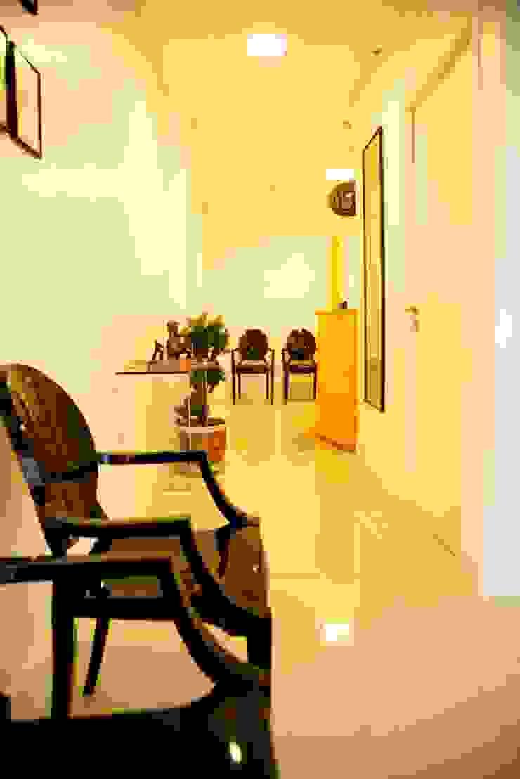 Consultório Médico RECEPÇÃO Clínicas modernas por Marcia Debski Ferreira Designer de Interiores Moderno