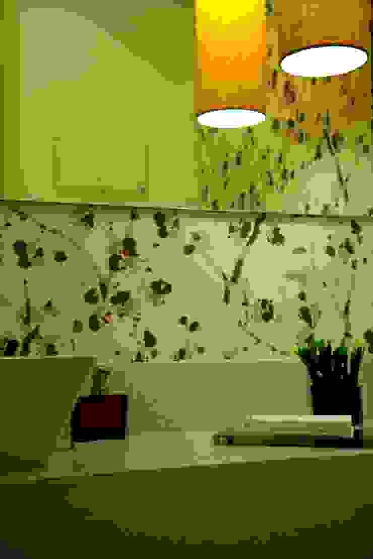 Consultório Médico LAVABO Clínicas modernas por Marcia Debski Ferreira Designer de Interiores Moderno