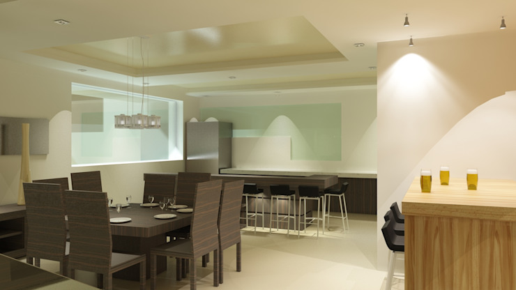 Cocinas de estilo moderno de CouturierStudio Moderno