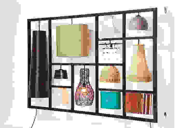 https://robin-design.nl/verlichting/hanglampen/parecchi-art-house-wandlamp-kare-design.html: modern  door Robin Design, Modern Bont Wit