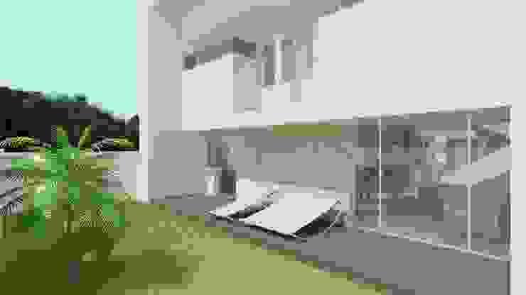 Jardines de estilo moderno de CouturierStudio Moderno