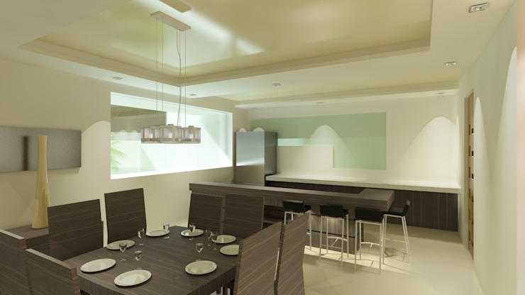 CouturierStudio Modern dining room