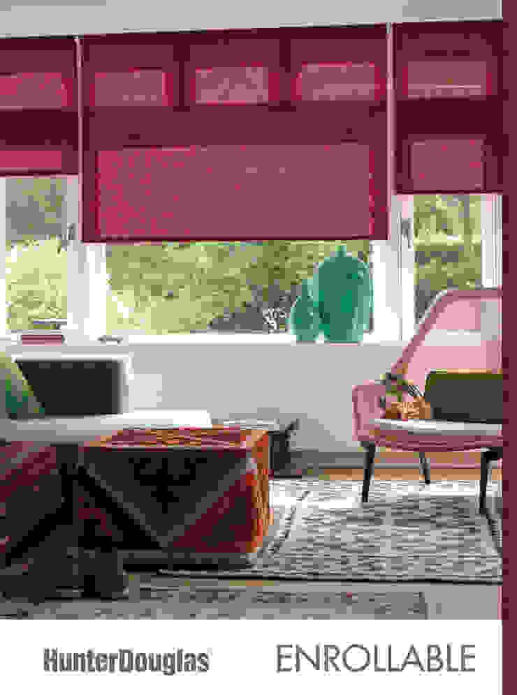 Persianas Hunter Douglas Dekorier Interiores Salones minimalistas Textil Multicolor