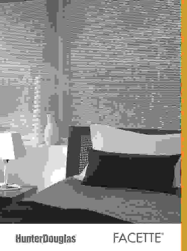 Facette® Dormitorios minimalistas de Dekorier Interiores Minimalista Textil Ámbar/Dorado