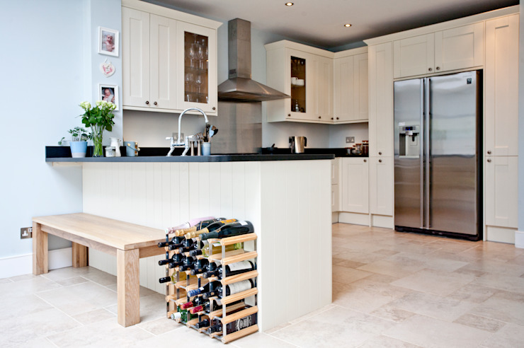 London Modern Refurbishment & Extension Modern Kitchen by A1 Lofts and Extensions Modern