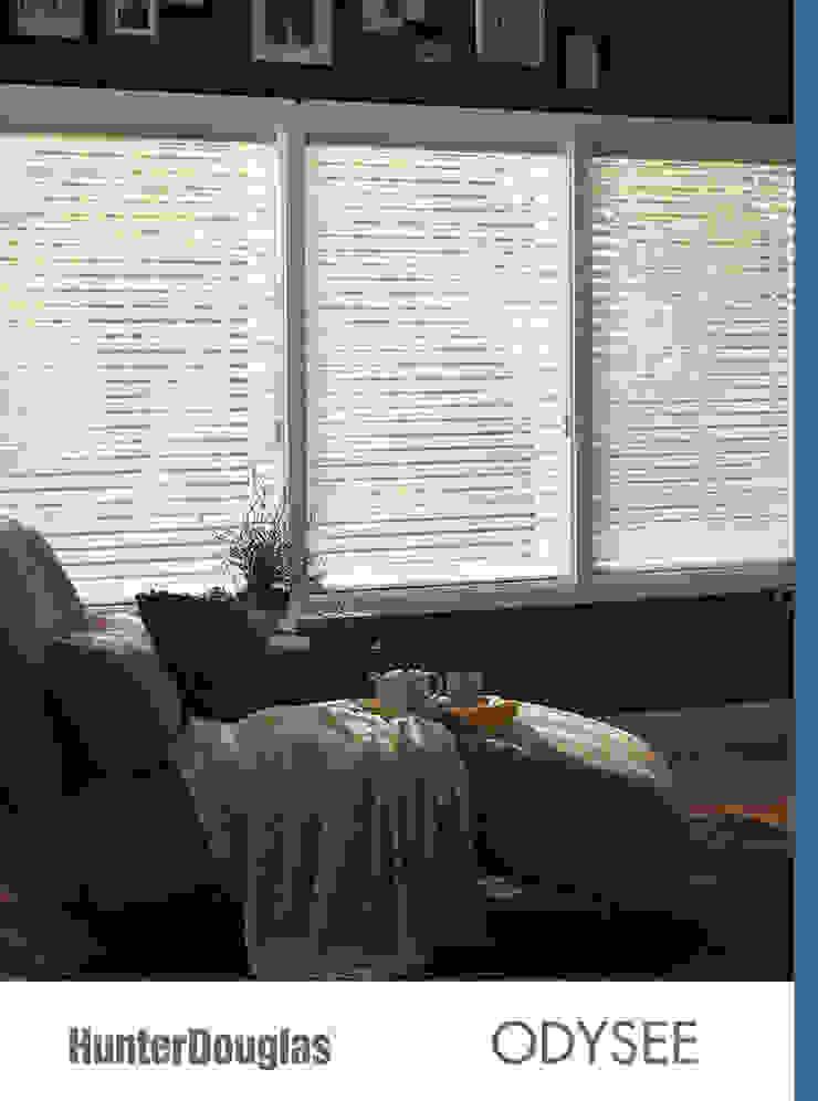 Odysee Dormitorios minimalistas de Dekorier Interiores Minimalista Textil Ámbar/Dorado