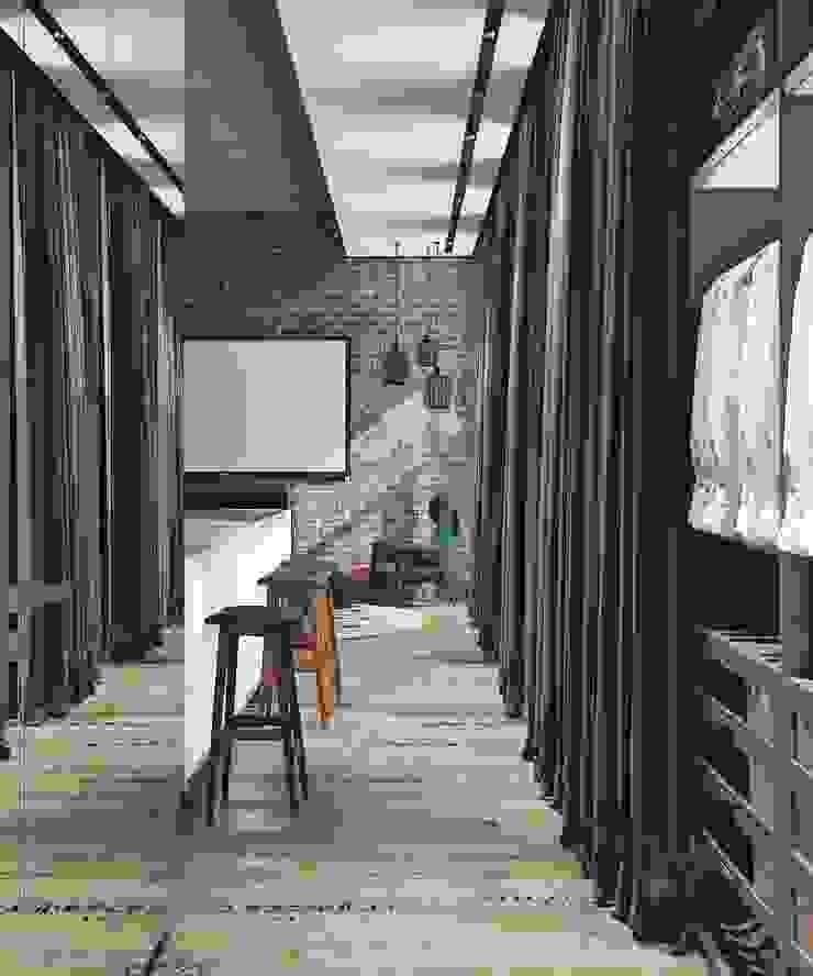 Depre Loft Гардеробная в стиле лофт от FEDOROVICH Interior Лофт МДФ