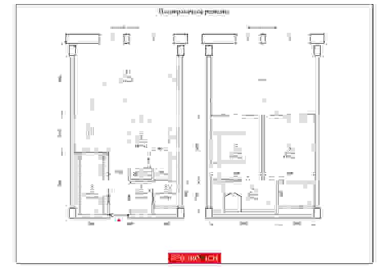 TriBeCa от FEDOROVICH Interior Лофт