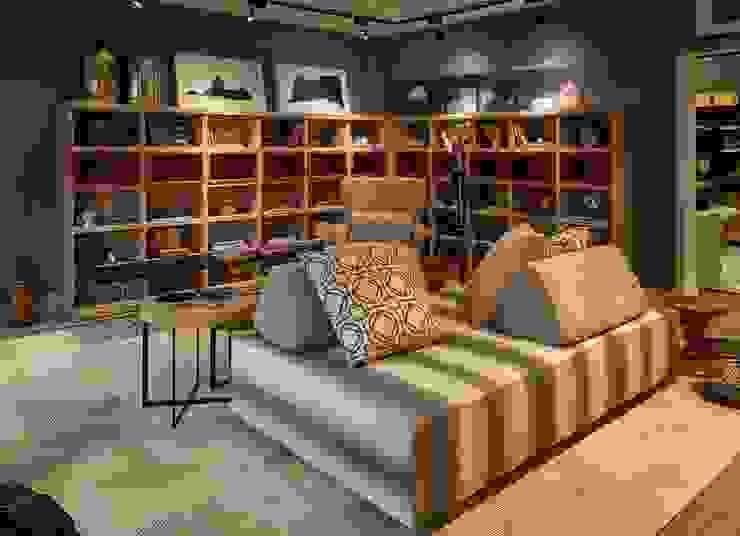 Salones de estilo moderno de Lider Interiores Moderno