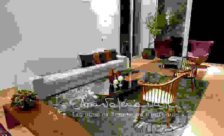 Salones de estilo moderno de Ana Valeria Valle Moderno