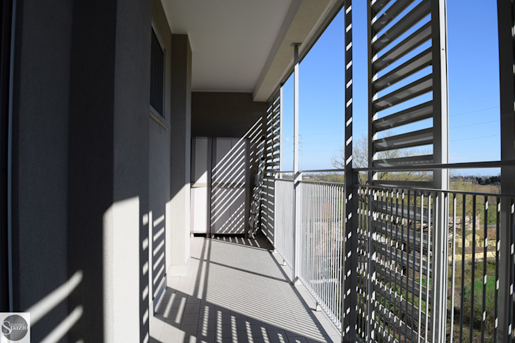 Progetto elisabetta.griggio Балкони, веранди & тераси Меблі