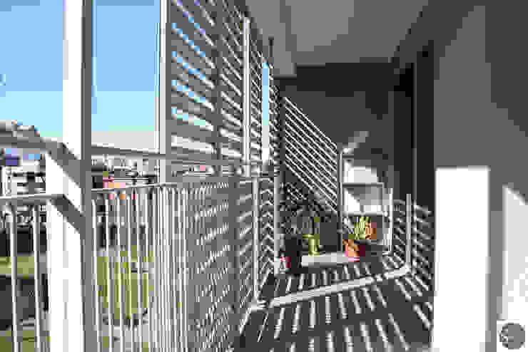 Progetto elisabetta.griggio Балкони, веранди & тераси Аксесуари та прикраси