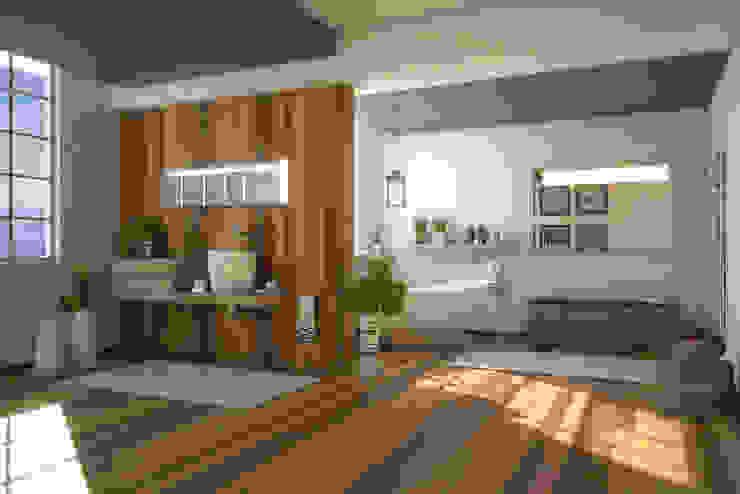 Bathroom G&C Bagno moderno di Ivan Rivoltella Moderno