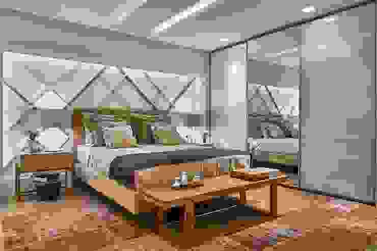 Decora Lider Rio de Janeiro - Quarto de Casal Jovem Quartos modernos por Lider Interiores Moderno