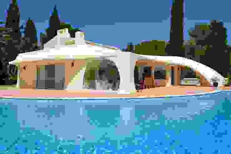 Exterior Renovation Śródziemnomorskie domy od RenoBuild Algarve Śródziemnomorski