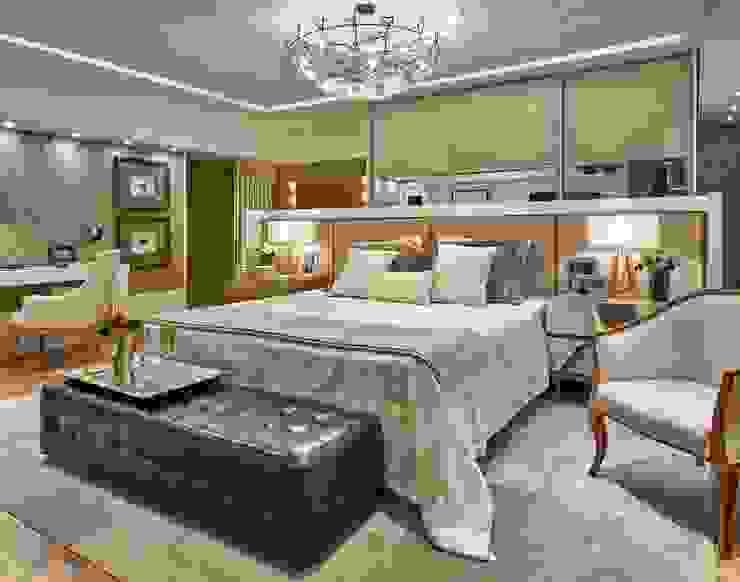 Спальня в стиле модерн от Lider Interiores Модерн
