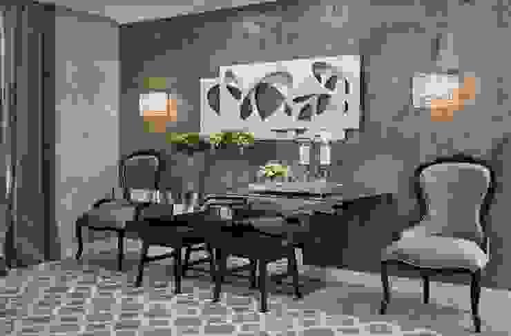 غرفة السفرة تنفيذ Lider Interiores , حداثي