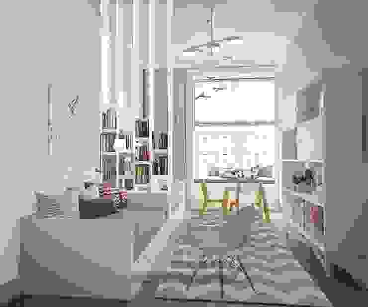 Детская Детская комнатa в классическом стиле от Olga's Studio Классический