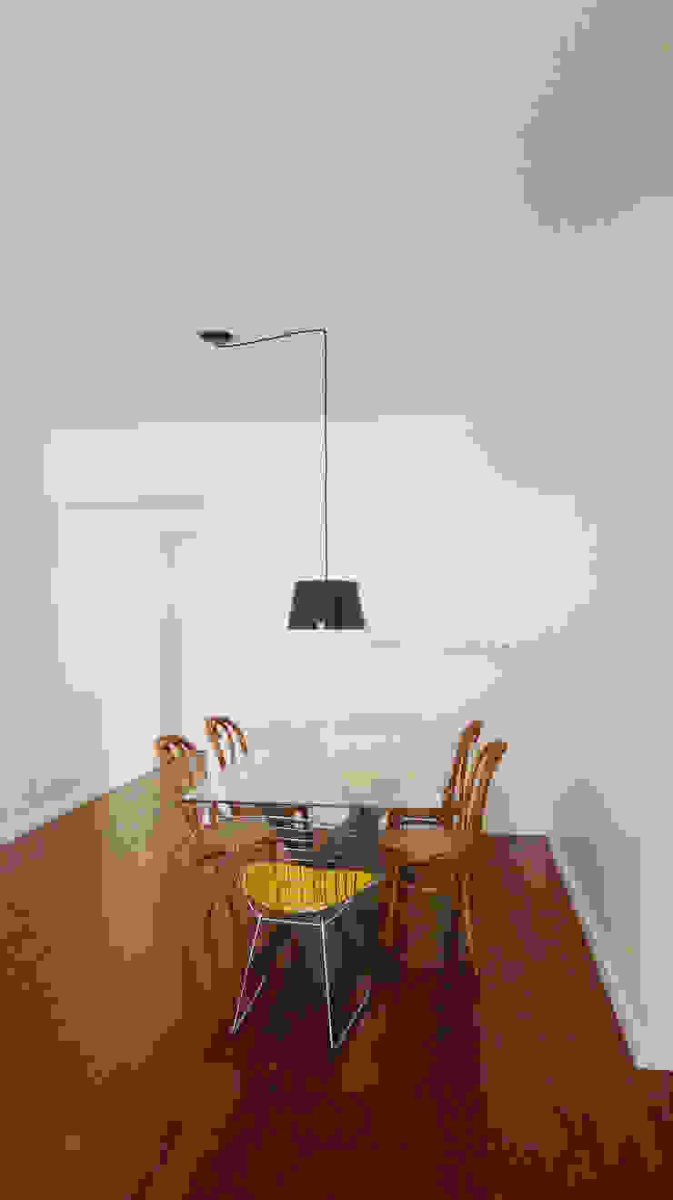 Apartamento K Salas de jantar minimalistas por bARST arquitetura e urbanismo Minimalista