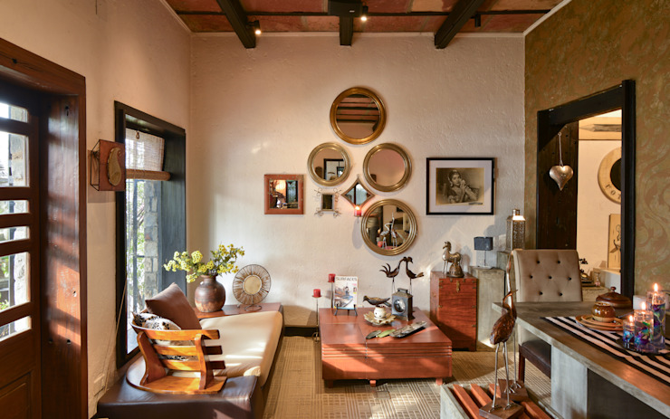 The Delhi Design Store de monica khanna designs Moderno
