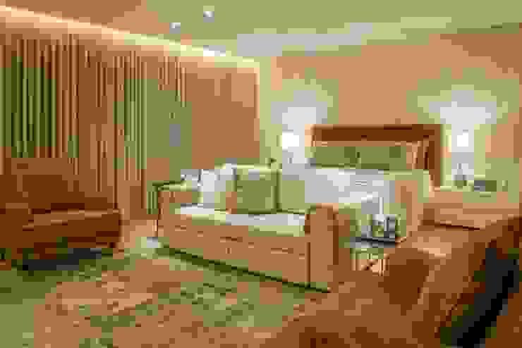 Casa Bairro Alphaville. Belo Horizonte Quartos modernos por Rosangela C Brandão Interiores Moderno