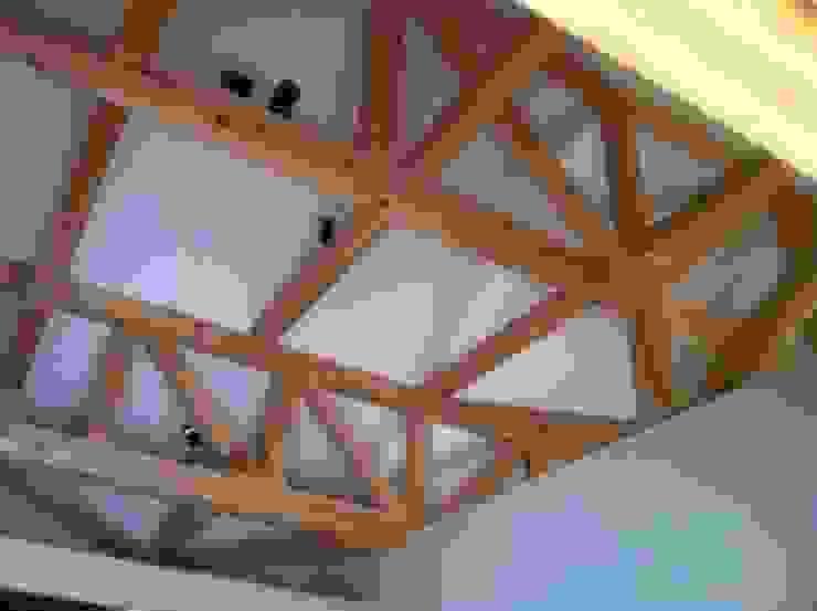 N邸 トラス和小屋no2 オリジナルな 家 の 木造トラス研究所・株式会社 合掌 オリジナル 木 木目調