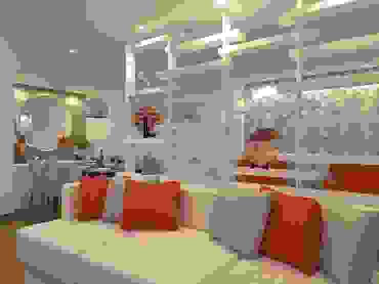 Sala de estar por Danielle David Arquitetura Moderno