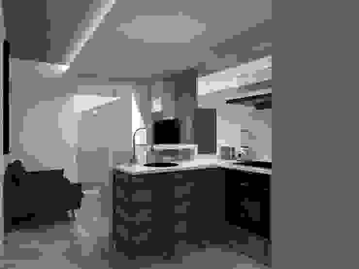 Remodelación Apartamento Agua Blanca. Valencia Cocinas de estilo moderno de Marianny Velasquez arquitecto Moderno