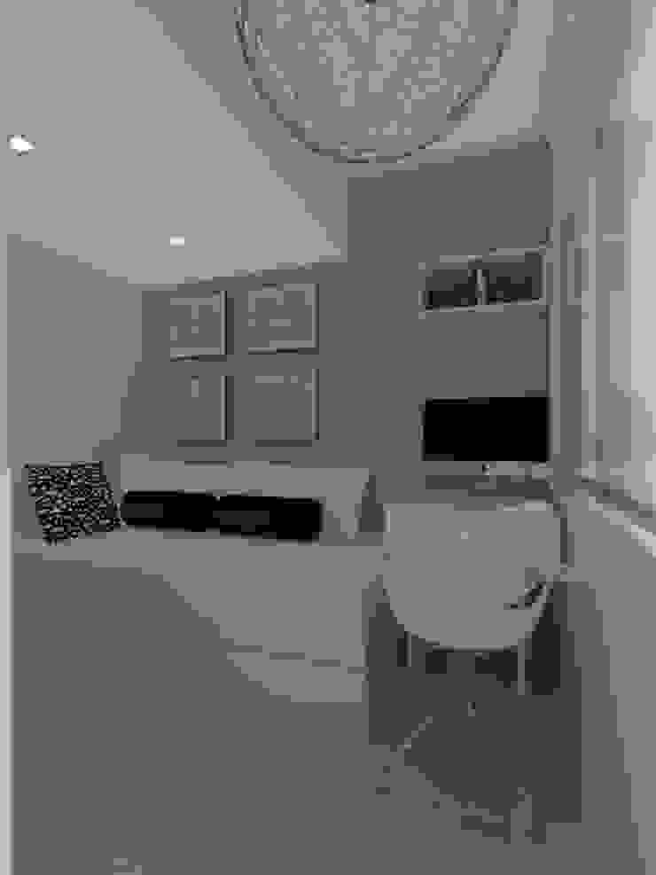 Remodelación Apartamento Agua Blanca. Valencia Marianny Velasquez arquitecto Cuartos de estilo moderno