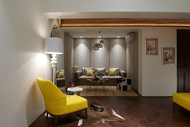NG Apartment Modern living room by Atelier Design N Domain Modern