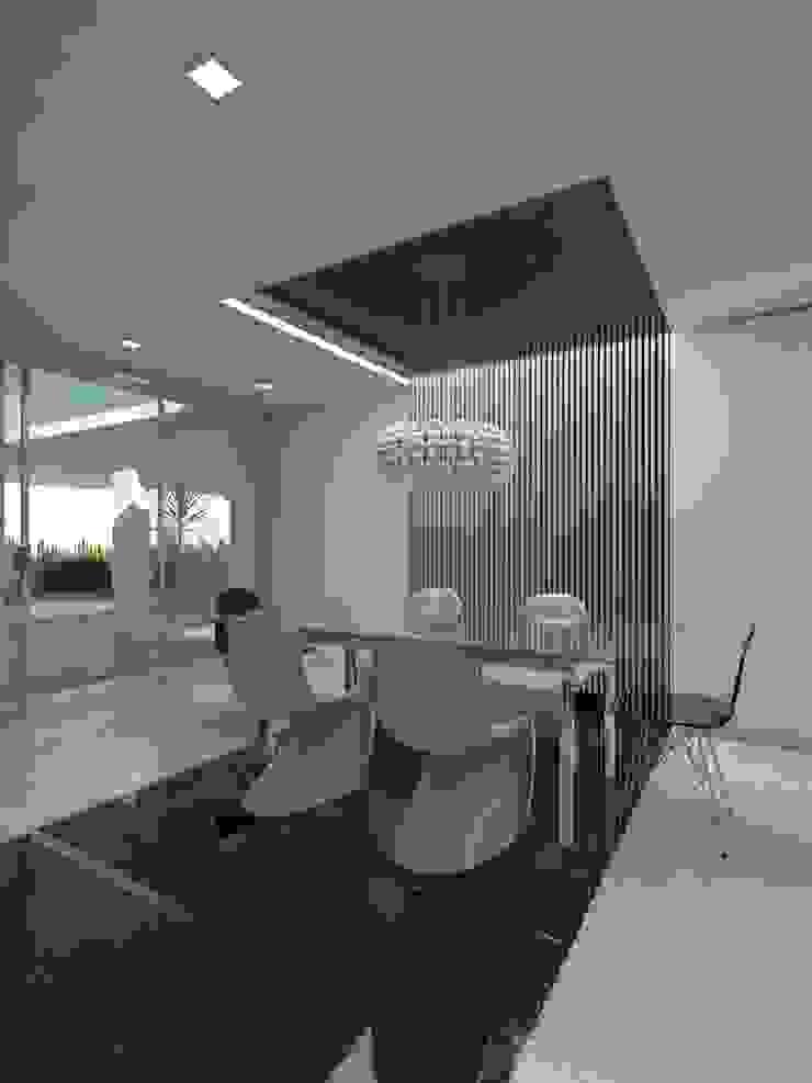 Remodelación Casa La Viña. Comedores de estilo minimalista de Marianny Velasquez arquitecto Minimalista