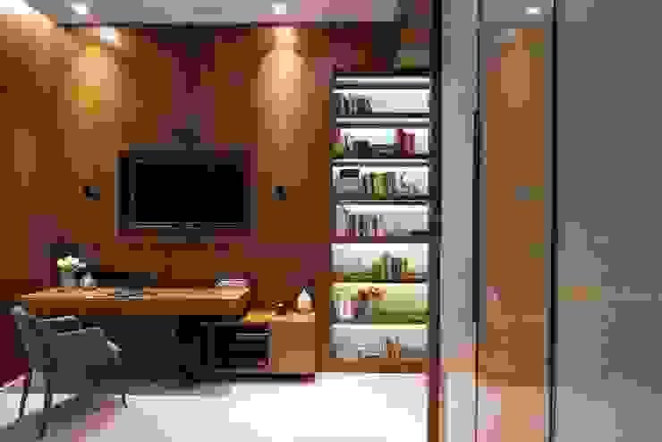 AVS Apartment Modern media room by Atelier Design N Domain Modern