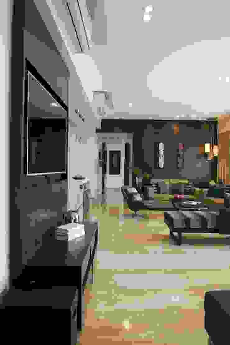 AS Apartment Modern media room by Atelier Design N Domain Modern