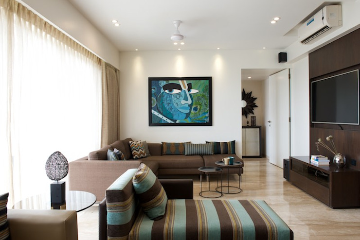 Atelier Design N Domain Modern Media Room